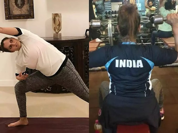 All mothers learn ways to lose weight with Sania Mirza