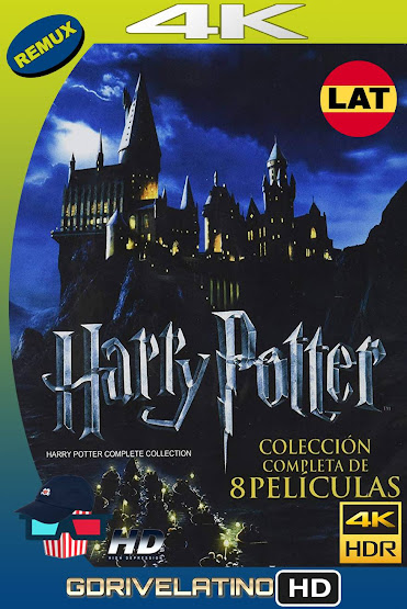 Harry Potter [Saga Completa] BDRemux 4K HDR Latino-Ingles MKV
