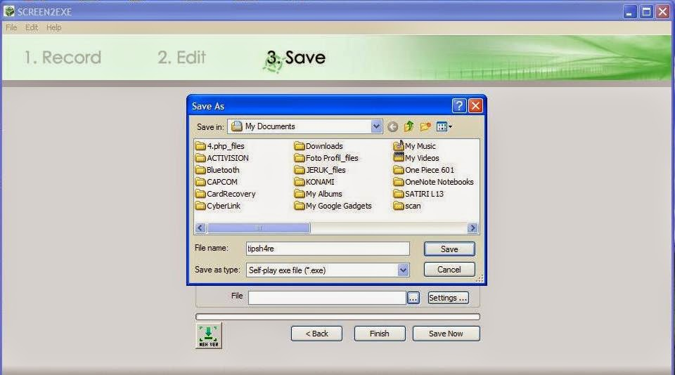 Free Download Software Perekam Monitor Screen2exe