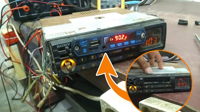 Merubah Tape Mobil Jadul ke USB MP3 | Ganti Kaset Tape dengan USB Bluetooth