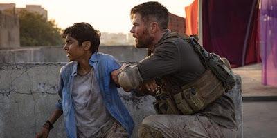 Chris Hemsworth berlakon dalam filem aksi Extraction