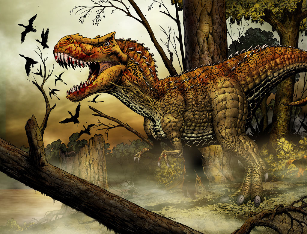 Clipart Of Extinct Animals