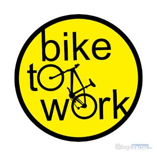 BIKE TO WORK Logo vector (.cdr)