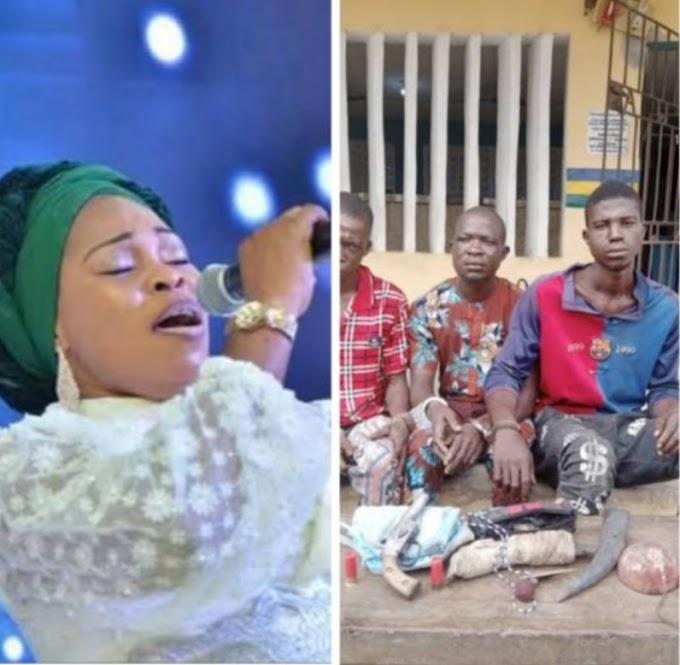 Tope Alabi robbed at gunpoint in Ogun