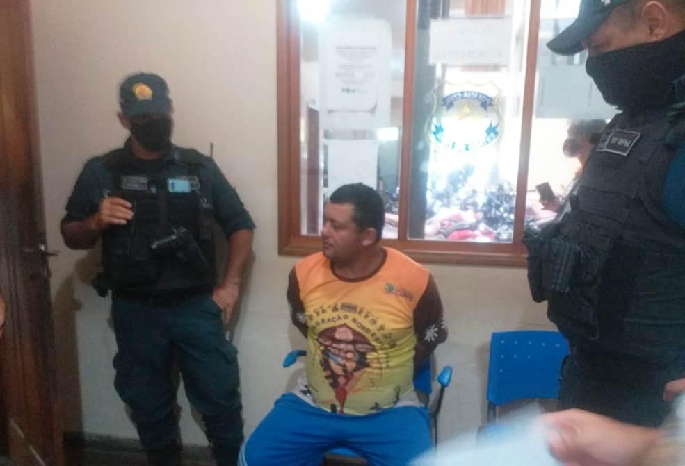 Preso em Santarém homem na lista do banco nacional de procurados; crime hediondo