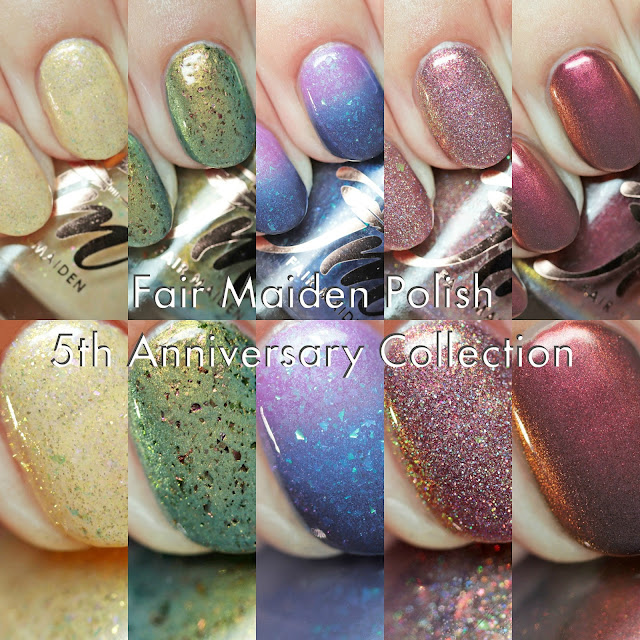 Fair Maiden Polish 5th Anniversary Collection
