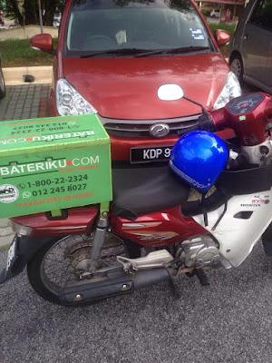 Perkhidmatan penghantaran, pemasangan dan pemeriksaan bateri kereta kong di Kajang