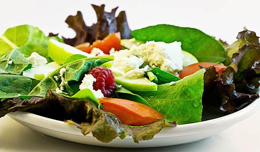 الطعام النباتي يساعد على التخلص من الوزن