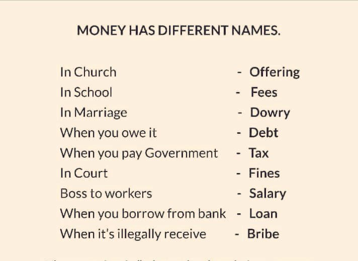 What Money Means In Different Institutions 1