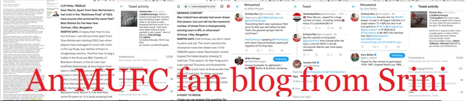 An MUFC fan blog from Srini