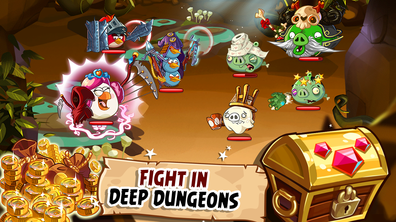 Download Angry Birds Epic Rpg for PC or Computer (Windows