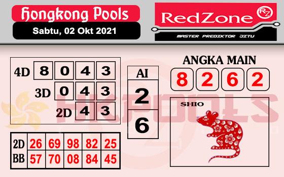Redzone HK Sabtu 02 Oktober 2021 -