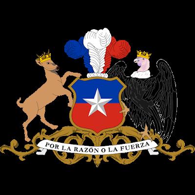 Coat of arms - Flags - Emblem - Logo Gambar Lambang, Simbol, Bendera Negara Chili