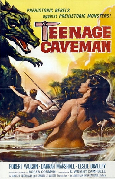 Poster - Teenage Cave Man, 1957