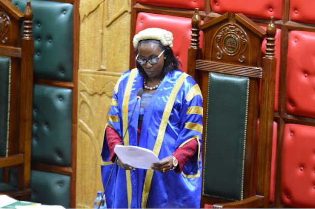 Nairobi County Assembly Speaker Beatrice Elachi