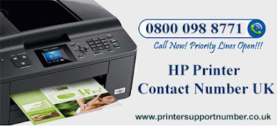 Hp printer contact number UK