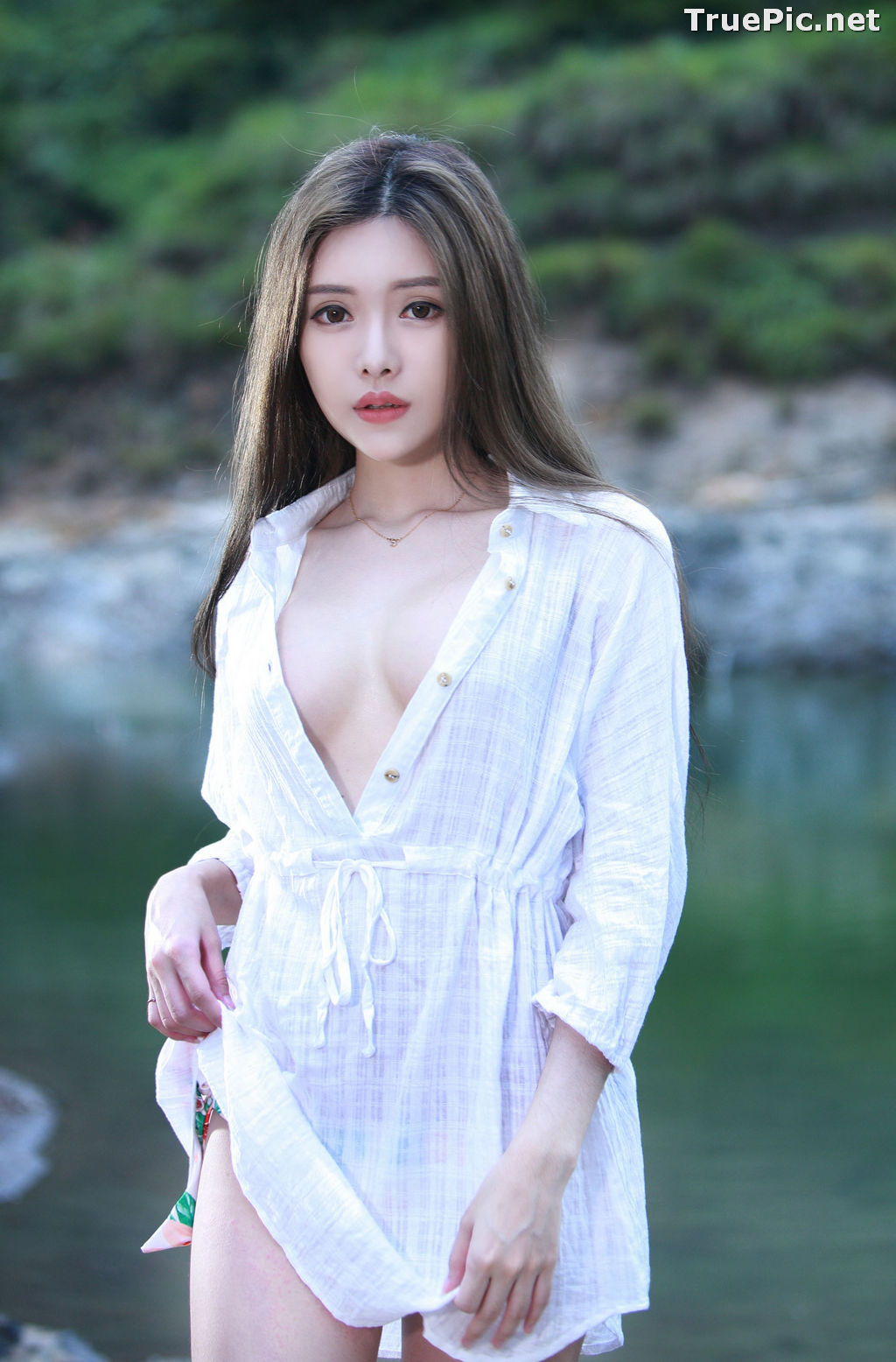 Image Taiwanese Model - 莊舒潔 - Sexy and Beautiful Big Eyes Girl- TruePic.net - Picture-4