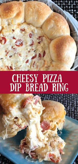 Pizza Dip Bread Ring