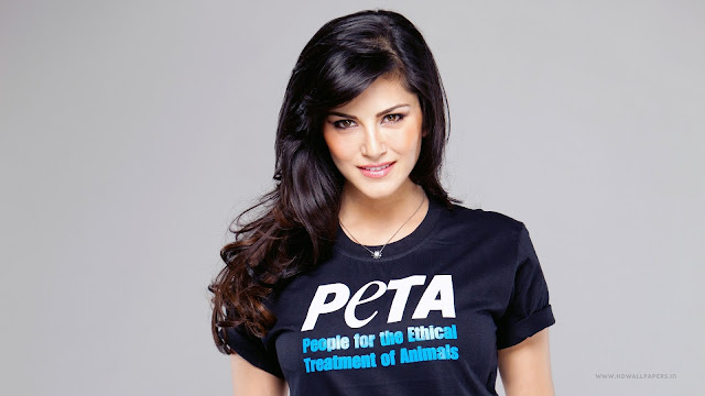 Sunny Leone PETA Wallpapers Collection