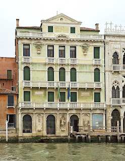 The Palazzo Giusti on the Grand Canal was  built in 1766 to Visentini's plans
