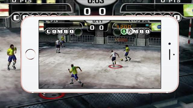 تحميل لعبة كرة قدم الشوارع Fifa Street 2 للأندرويد