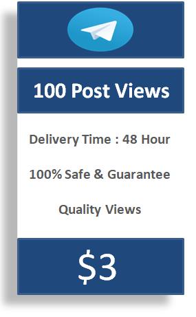 buy 100 telegram post views, buy telegram channel views