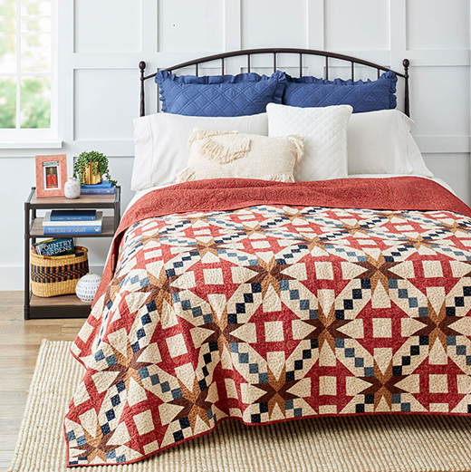 Tips For Great Quilt Care Article by Cynthia Blake of House and Home Review