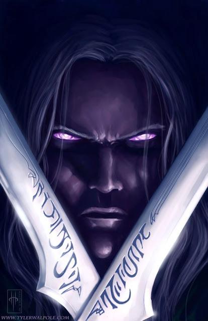 Drizzt Do'Urden y la evolución de Dungeons & Dragons - Drizzt Cimitarras