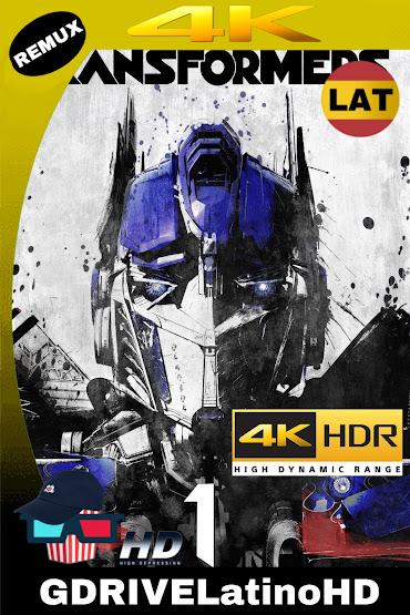 Transformers (2007) BDREMUX 2160P 4K HDR Latino-Español-Ingles MKV
