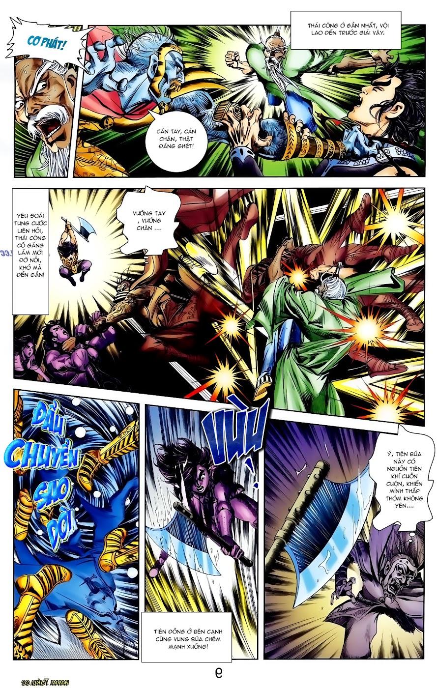 Cơ Phát Khai Chu Bản chapter 109 trang 9