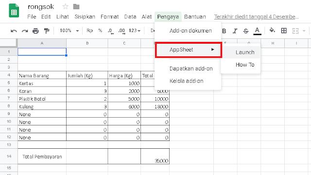 Membuat Aplikasi Android Dengan Microsoft Excel