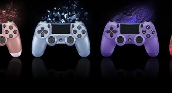 سوني تكشف عن نسخ جديدة من يد تحكم جهاز PS4 قادمة خلال الأشهر المقبلة بألوان رائعة جداً ، لنشاهد..