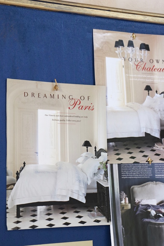 French Country Bedroom Bulletin Board Inspiration