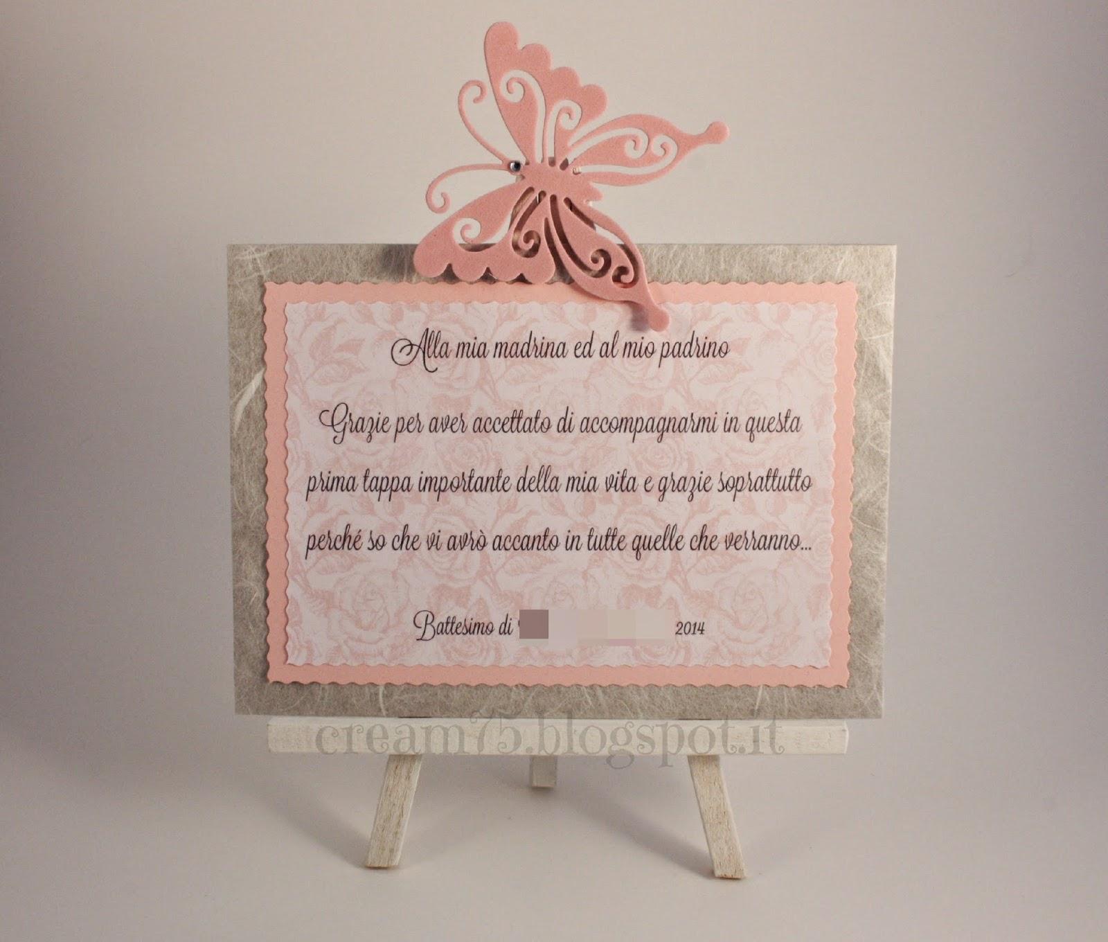 Favoloso My Sweet Blog: Regalo madrina e padrino per battesimo VD37