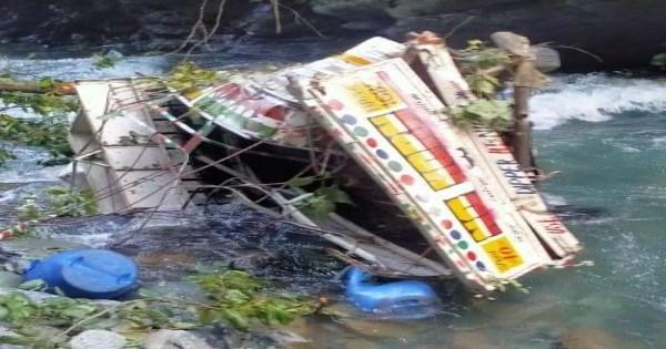 चम्बा के तीसा स्यूल नदी में गिरी पिकअप, तीन लोगों के मौत की ख़बर