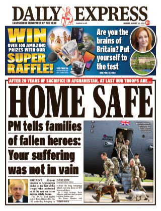 Daily Express Magazine 30 August 2021