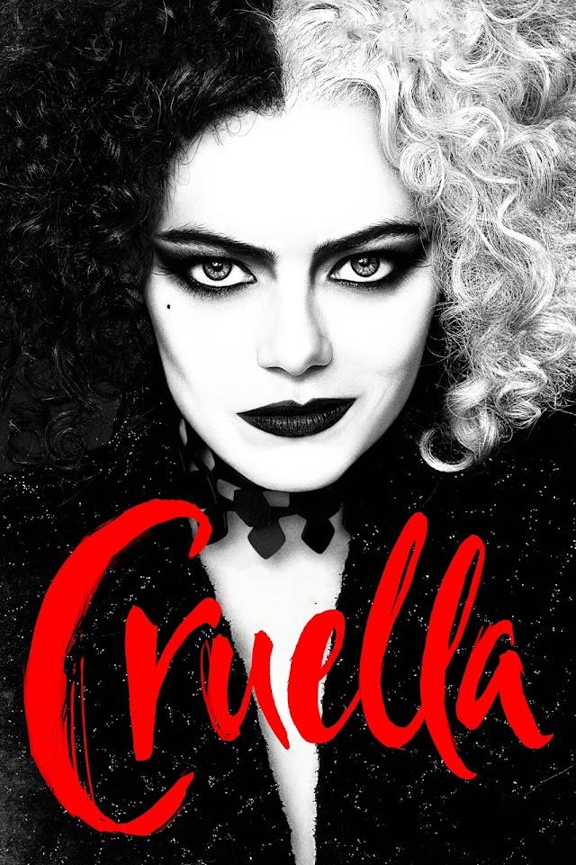 Cruella 2021 x264 720p WebHD Esub English Hindi Telugu Tamil THE GOPI SAHI