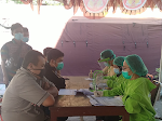 Puluhan Pegawai KPU Samosir Jalani Test Swab