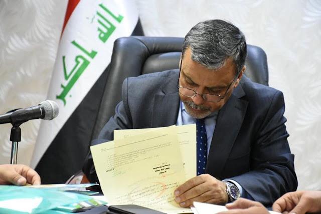 محافظ بغداد استثناء حملة الشهادات العليا من ضوابط التعيين