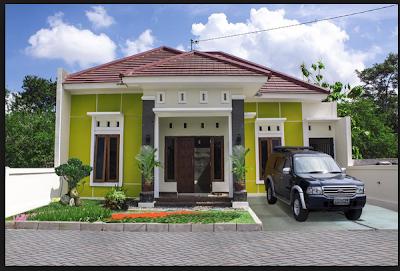 cara desain dan membuat rumah minimalis modern 1 lantai