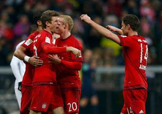 Bayern Pesta Lima Gol Tanpa Balas Lawan Bremen