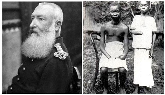 Raja Leopold II membantai suku - suku di Kongo