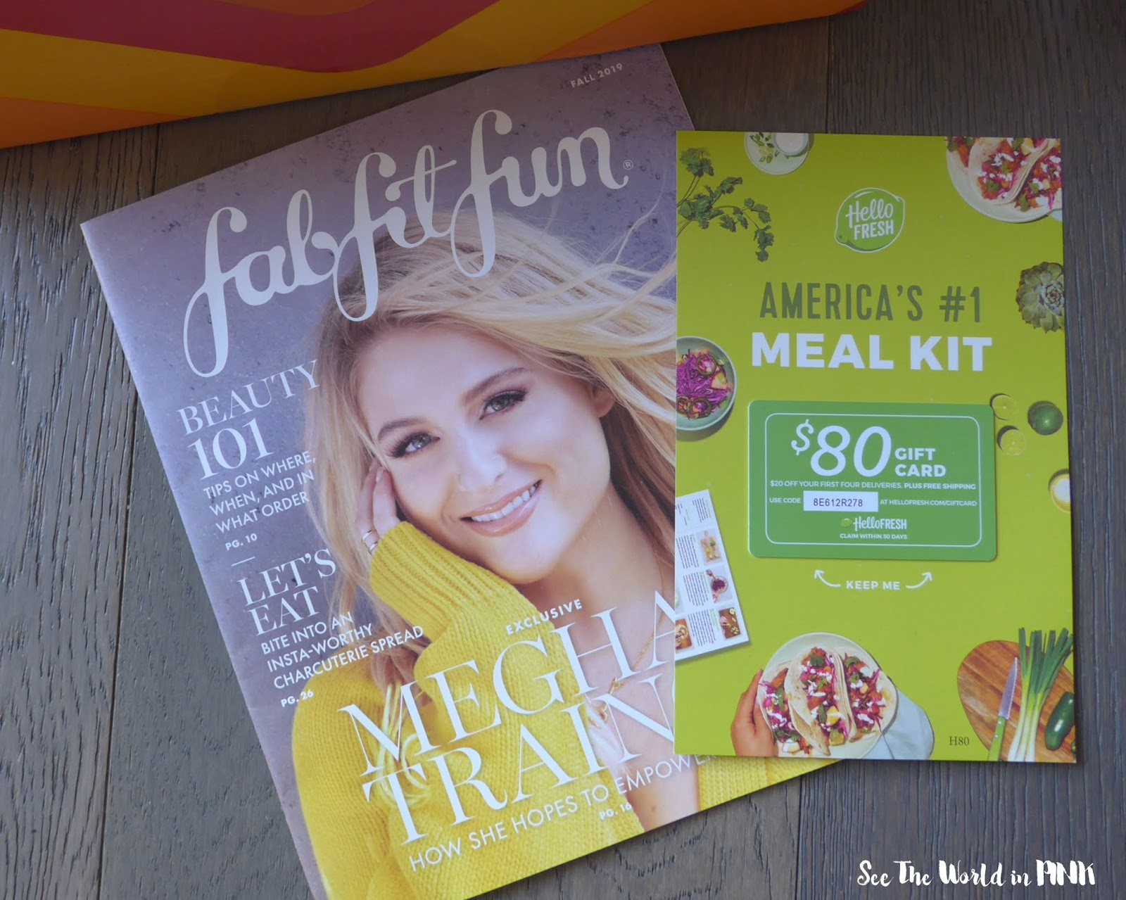 Fall 2019 FabFitFun - Lifestyle Subscription Unboxing
