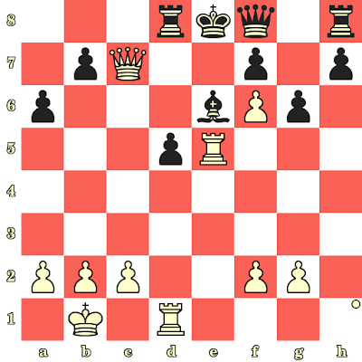 Les Blancs jouent et matent en 4 coups - Efim Bogoljubov vs Rudolf Spielmann, Stockholm, 1919