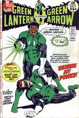Green Lantern Green Arrow #87 dc comic book cover art by Neal Adams