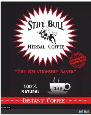 Stiff Bull Coffee For Sale