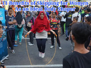 11 Benefits of Skipping for Women as an Ideal Body Shaper