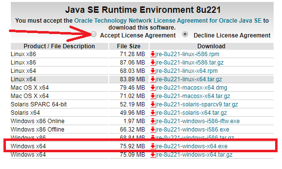 Oracle JRE 7 Update 51 (64-Bit) Or Higher Is Required For Polybase