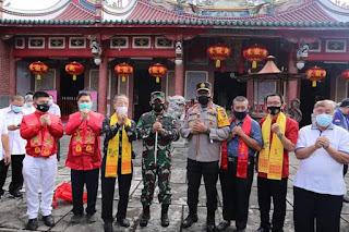 Peringatan Hari Raya Imlek,  Kapolda Sumut Himbau Masyarakat Tionghoa Patuhi Protokol Kesehatan Covid-19