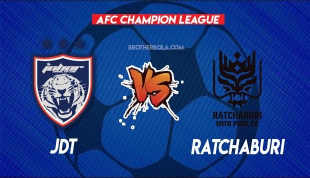 Live Streaming JDT vs Ratchaburi  AFC Champion League 25 June 2021.